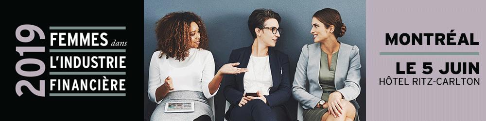Femmes dans l'industrie financière 2019