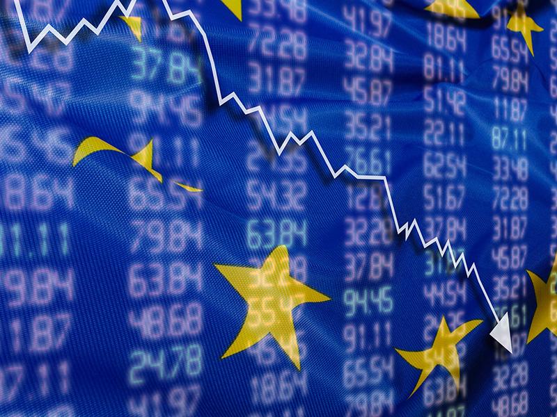 Chute des valeurs sur la Bourse européenne.