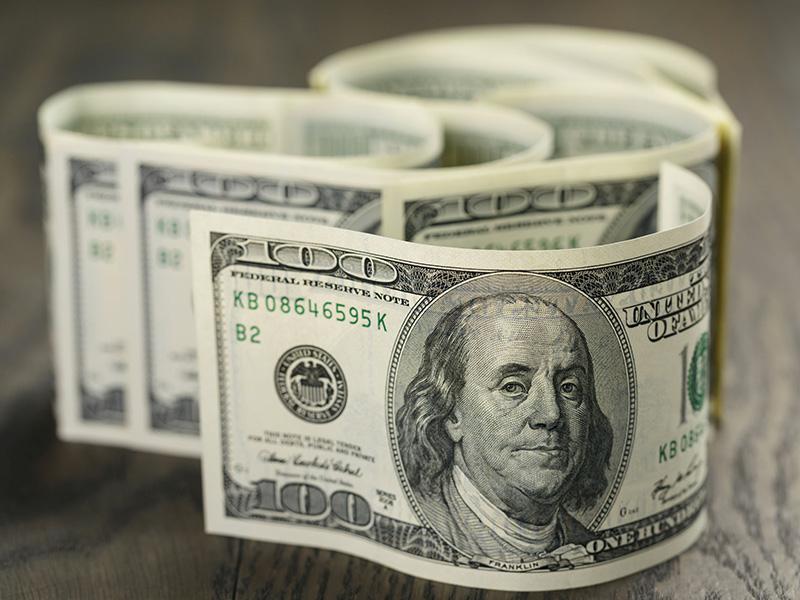 Dollar américain.