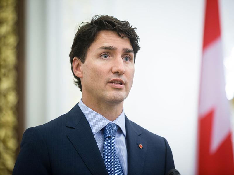 Le Premier ministre du Canada, Justin Trudeau.