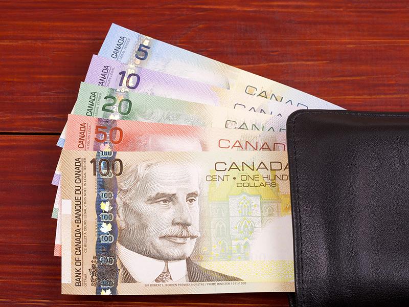Billets de banque du Canada.