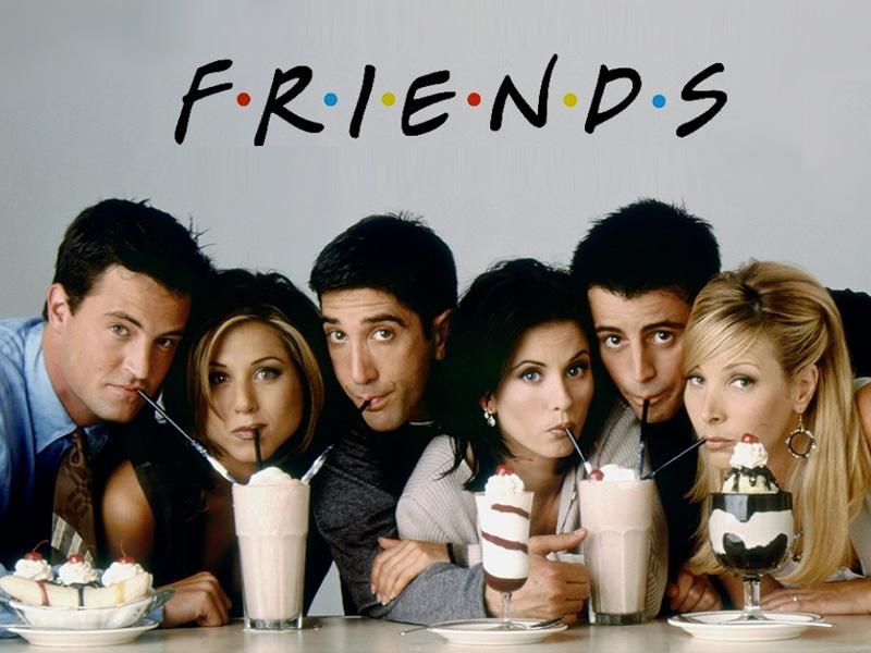 Personnages de la série américaine « Friends ».