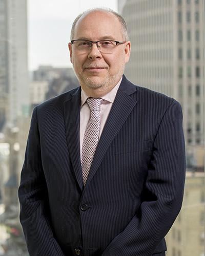 Louis Lévesque, directeur général de Finance Montréal.
