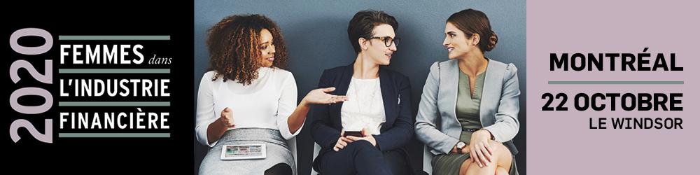 Femmes dans l'industrie financière 2020