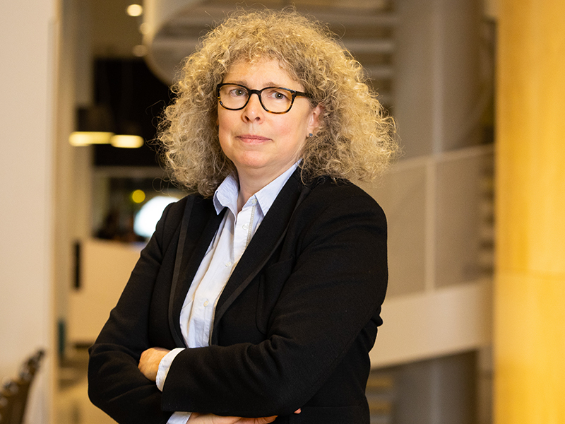 La PDG de Fondaction, Geneviève Morin