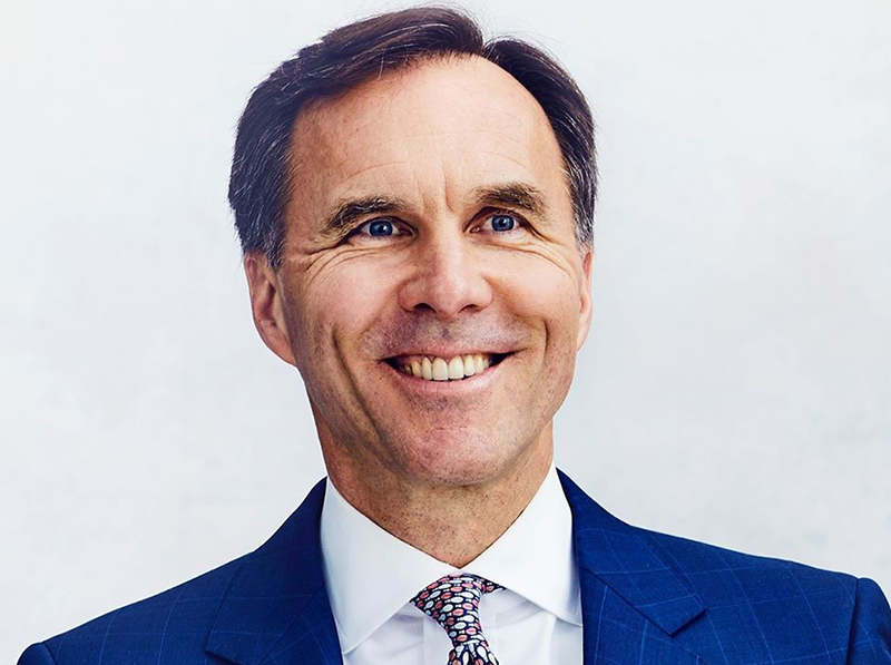 Bill Morneau, ministre des Finances du Canada