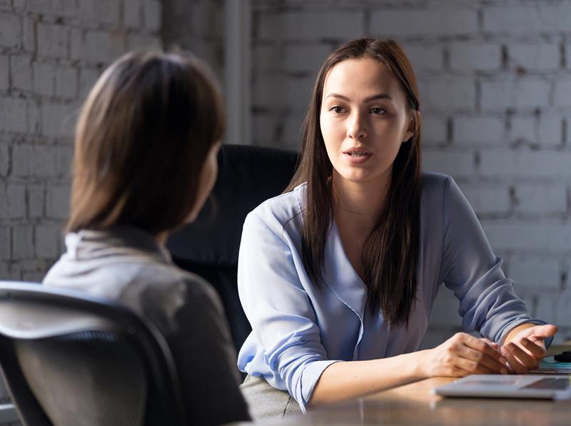 Discussion avec une cliente