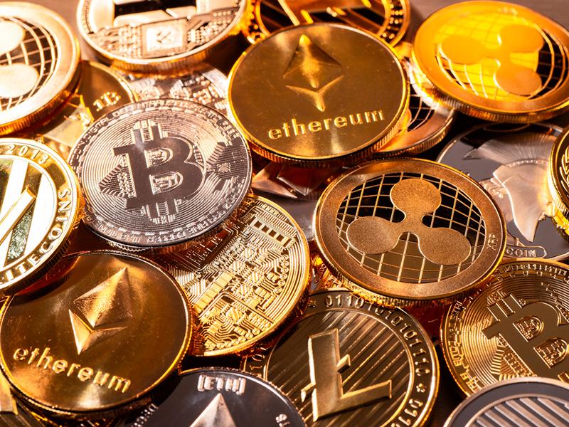 Pièces de cryptomonnaie