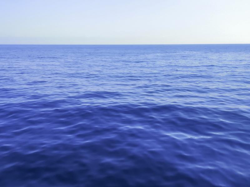 la mer calme