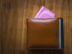 Condom dans un portefeuille