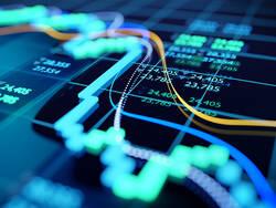 Courbe indiquant une baisse des marchés
